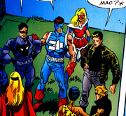 First Line (Earth-616) and Monster Hunters (Earth-616) from Marvel The Lost Generation Vol 1 2 0001
