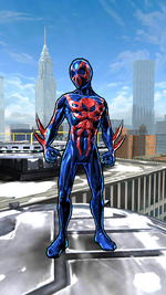Miguel O'Hara (Earth-TRN389) from Spider-Man Unlimited (video game)