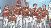 Scarlet Knights (Earth-616) from New Excalibur Vol 1 6 0001
