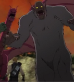Tricephalous (Earth-12041), Vandoom's Monster (Earth-12041), and Clinton Barton (Earth-12041) from Marvel's Avengers Assemble Season 2 19
