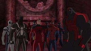 Web-Warriors, Spider Slayers, Spider-Woman (Earth-12041) from Ultimate Spider-Man S4E22