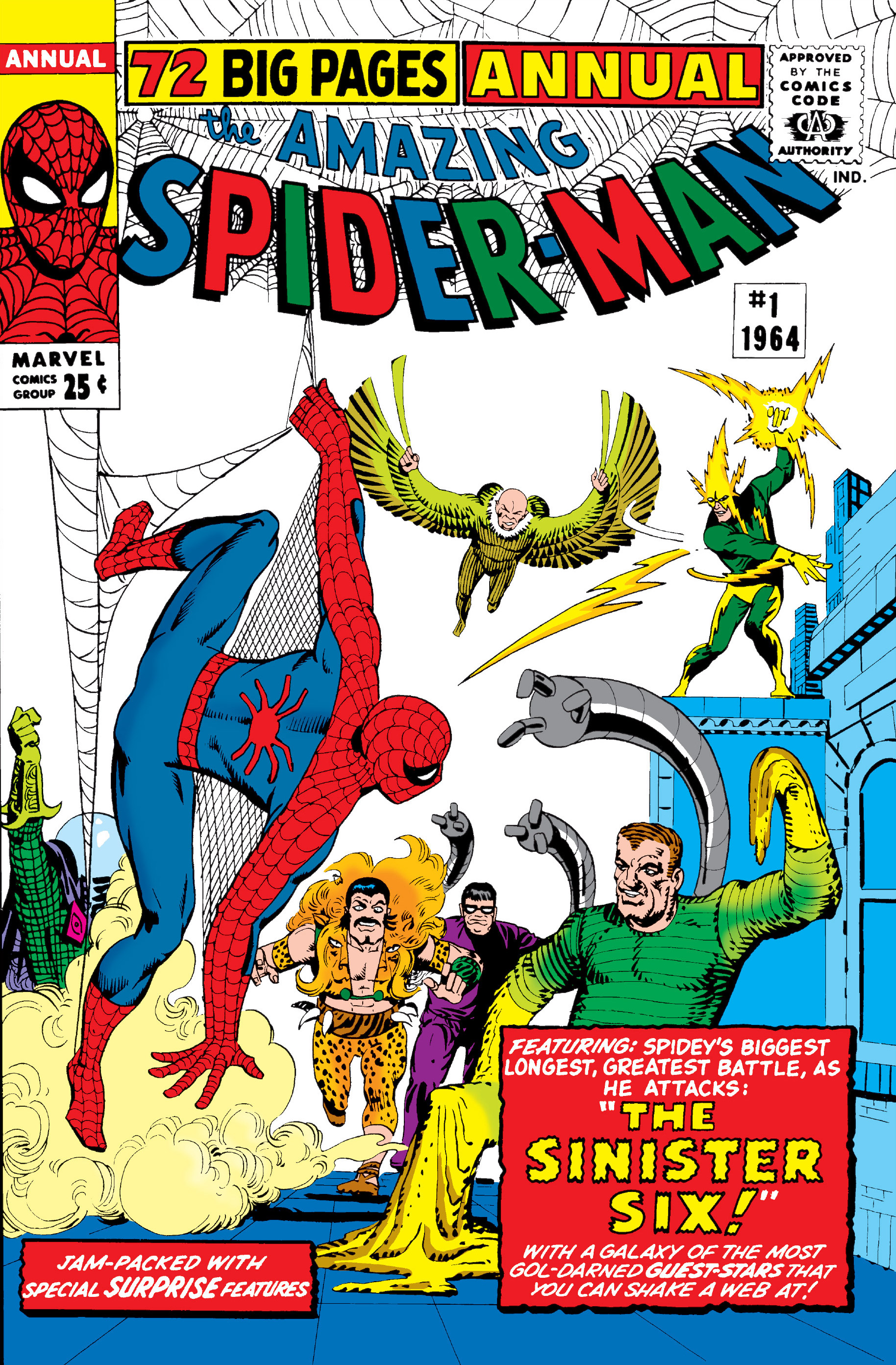 028da7c2 Amazing Spider-Man Annual Vol 1 1 | Marvel Database | FANDOM powered ...