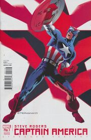 Captain America Steve Rogers Vol 1 1 Steranko Second Printing Variant