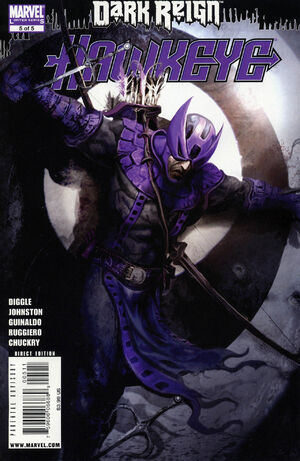 Dark Reign Hawkeye Vol 1 5