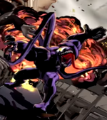 Edward Brock Sr. (Earth-TRN005) and Venom (Symbiote) (Earth-TRN005) from Ultimate Spider-Man (video game) 001
