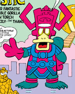 Galactypus (Earth-8311) from Peter Porker, The Spectacular Spider-Ham Vol 1 12 0001