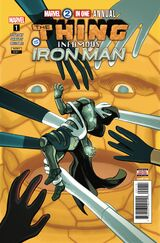 Marvel 2-In-One Annual Vol 1 1