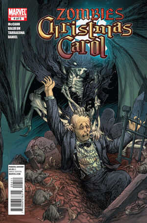 Marvel Zombies Christmas Carol Vol 1 4