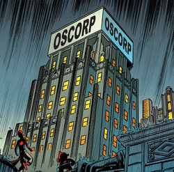 Oscorp (Earth-22916) from Web Warriors Vol 1 8