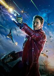 Peter Quill (Earth-199999) from Guardians of the Galaxy (film) Poster 001