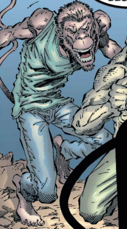 Simian (Earth-616) from Uncanny X-Men Vol 1 395