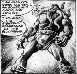 Ulluxy'l Kwan Tae Syn (Earth-616) from Rampaging Hulk Vol 1 3
