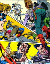 Unlucky Thirteen Gang (Earth-616) from Marvel Comics Presents Vol 1 116 0001