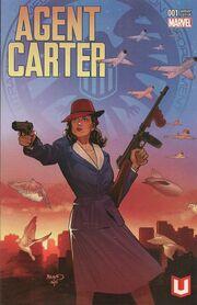 Agent Carter S.H.I.E.L.D. 50th Anniversary Vol 1 1 Marvel Unlimited Variant