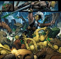 Ares (Earth-616) from Mighty Avengers Vol 1 1 0001