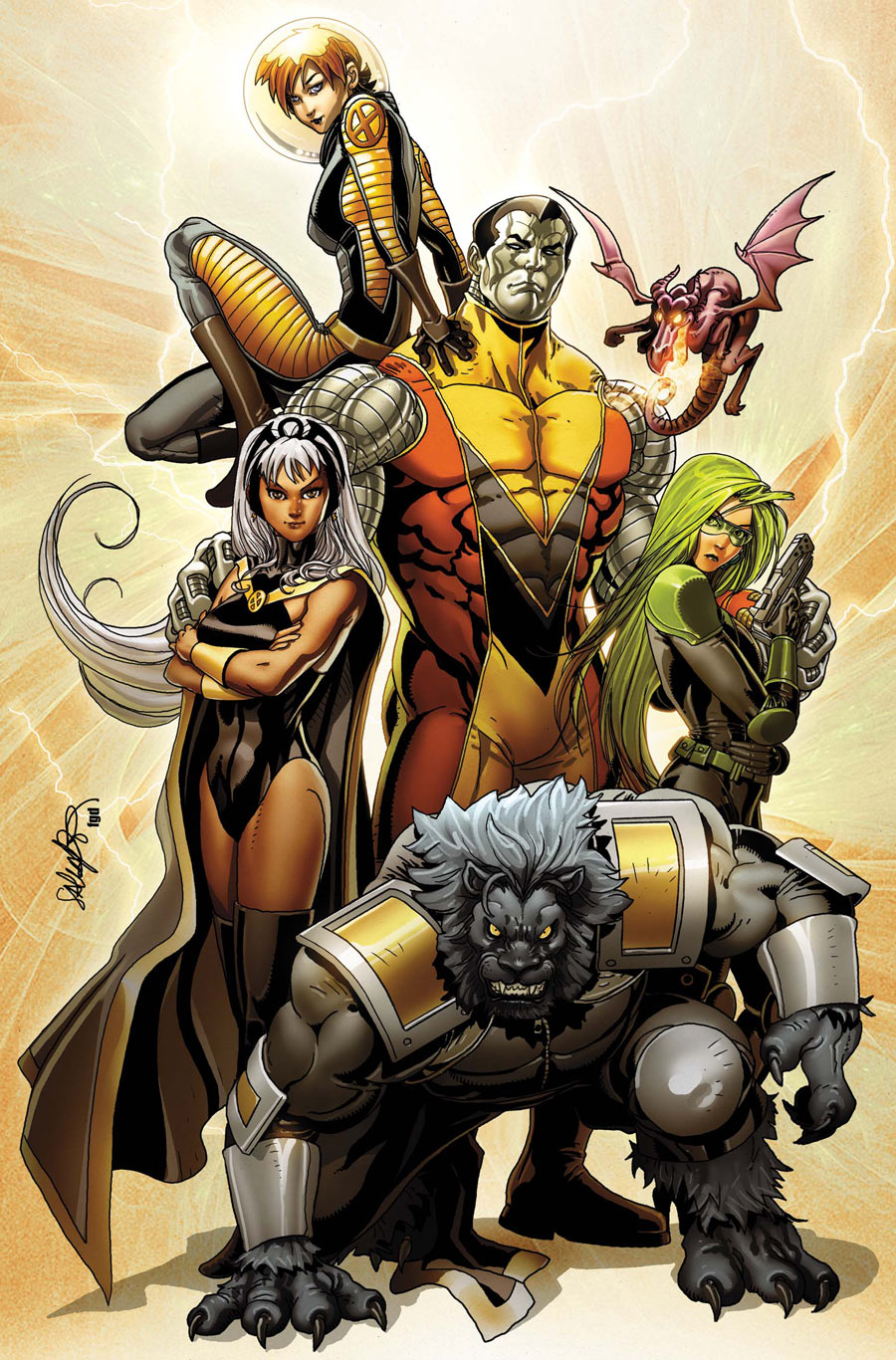 Astonishing X-Men Vol 3 38 Textless