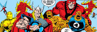 Avengers (Earth-49487) from Fantastic Four Vol 1 388 0001