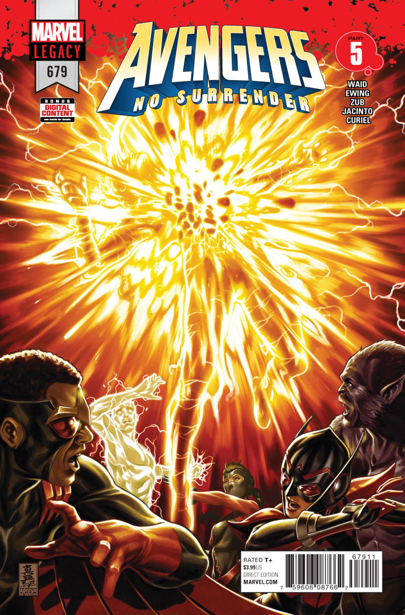 Couverture du comics N°679 de Avengers No Surrender