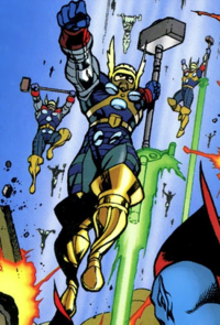 Hammer-Troopers (Earth-9812) from Avengers Forever Vol 1 1 001