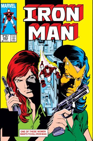 Iron Man Vol 1 203
