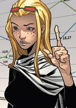 Layla Miller (Earth-1610) from Ultimate Comics X-Men Vol 1 12