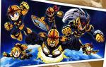 Mega Nova Corps (Earth-30847) from Marvel vs Capcom 3 Fate of Two Worlds 0001