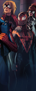 Miles Morales (Earth-TRN494) and Jessica Drew (Earth-1610) 001