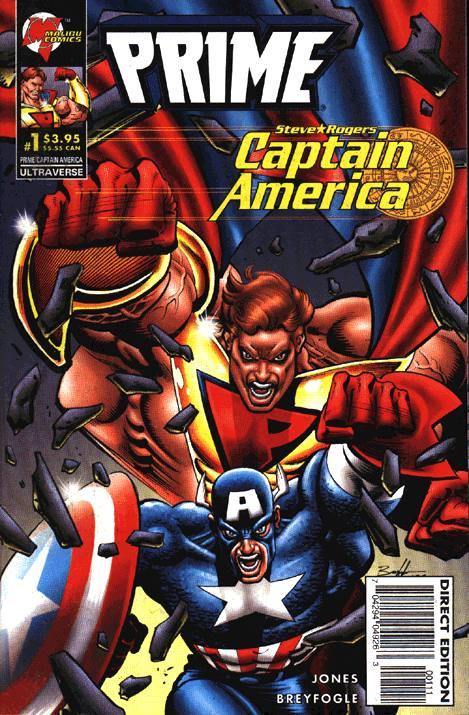 Prime Captain America Vol 1 1