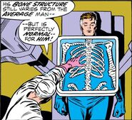 Reed Richards (Earth-616) x-ray of Reed's skeleton from Fantastic Four Vol 1 124