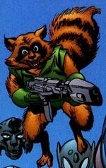 Rocket Raccoon (Earth-9997) Universe X Vol 1 5