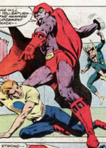 Victor Kreeger (Earth-616) from Power Man and Iron Fist Vol 1 107 0001