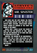 X-Force Vol 1 17 Trading card back
