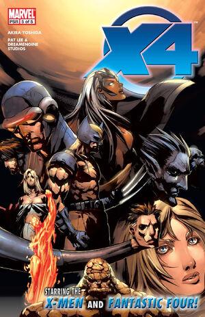 X-Men Fantastic Four Vol 1 5