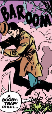 Anthony Stark (Earth-616) getting wounded in the blast from Tales of Suspense Vol 1 39