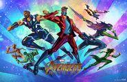 Avengers Infinity War Fandango poster 001