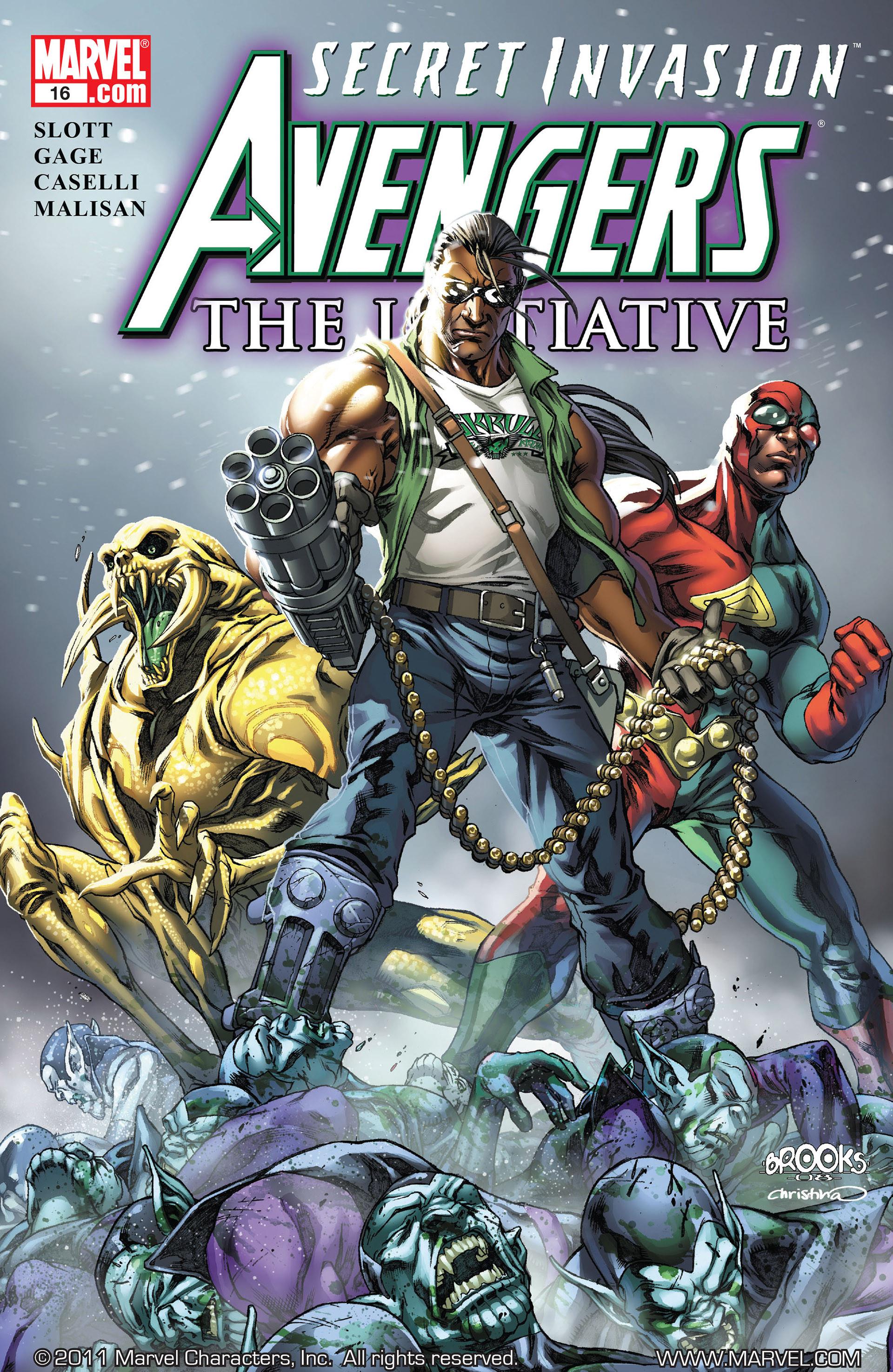 Avengers The Initiative Vol 1 16
