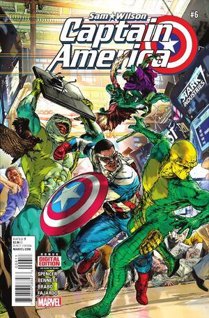 Captain America Sam Wilson Vol 1 6