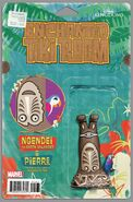Enchanted Tiki Room Vol 1 3 Action Figure Variant