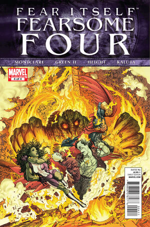 Fear Itself Fearsome Four Vol 1 4