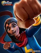Kamala Khan (Earth-TRN562) from Marvel Avengers Academy 001