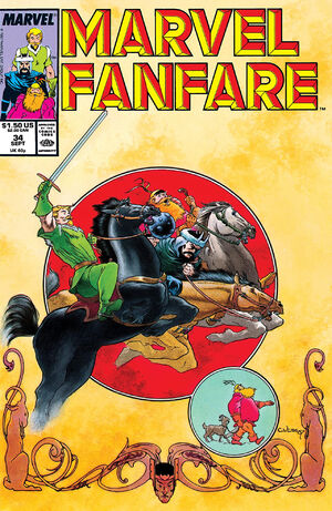 Marvel Fanfare Vol 1 34