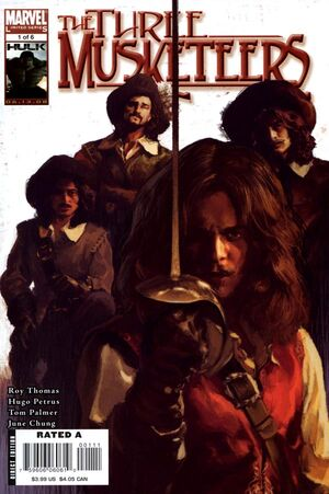 Marvel Illustrated The Three Musketeers Vol 1 1