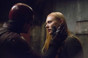 Matthew Murdock (Earth-199999) and Karen Page (Earth-199999) from Marvel's Daredevil Season 2 13