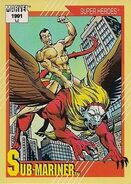 Namor McKenzie (Earth-616) from Marvel Universe Cards Series II 0001