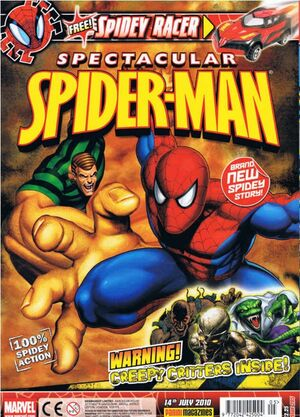 Spectacular Spider-Man (UK) Vol 1 205