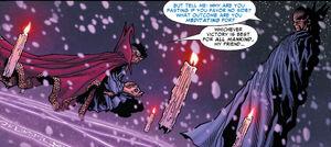 Stephen Strange (Earth-616) and Uatu (Earth-616) from Civil War Vol 1 6 0001