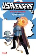 U.S.Avengers Vol 1 1 Pennsylvania Variant