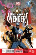 Uncanny Avengers Vol 1 1 Acuña Variant