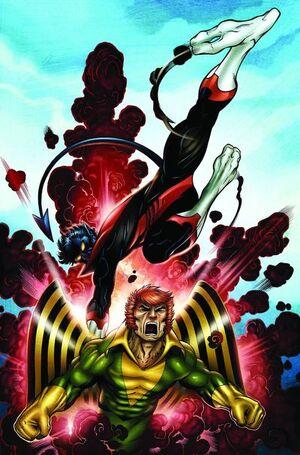Uncanny X-Men First Class Vol 1 3 Textless