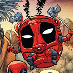 Wade Wilson (Earth-Unknown) from Deadpool Kills Deadpool Vol 1 3 0001